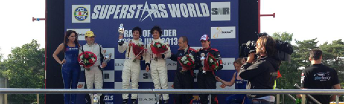 The TwinsTake Victory on Supecar Challenge at Zolder